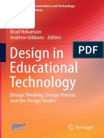 (Educational Communications and Technology_ Issues and Innovations) Monica W. Tracey, John Baaki (Auth.), Brad Hokanson, Andrew Gibbons (Eds.)-Design in Educational Technology_ Design Thinking, Design