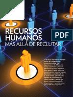 Recursos Humanos, Más Allá de Reclutar