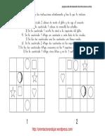 Programa de Entrenamiento de Instrucciones Escritas Dos Cuadriculas 10