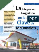 Integración Logistica mc Donalds