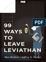 99 Ways to Leave Leviathan - Max Borders and Jeffrey Tucker