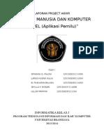 Imk_laporan Appel (Aplikasi Pemilu)
