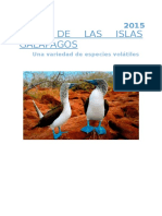 Aves de Las Islas Galápagos