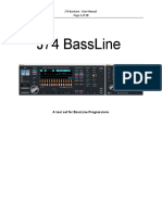 J74 BassLine - User Manual