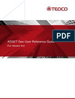 ASSET Geo User Reference Guide