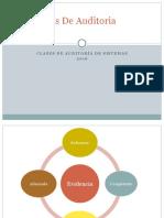 Clase Evidencias de Auditoria 2015