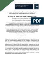 Artigo - Ipebj - Pacto de San José x Sistema Penitenciário - Luana Gonçalves