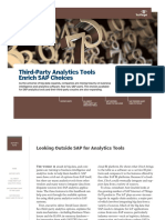 Third Party Analytics Tools Enrich SAP Choices