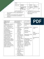 Planificación Unidad 1 4° y 5°