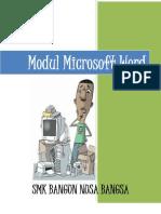 Modul Microsoft Word