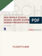 Bedford School Board Presentations 4-14-16