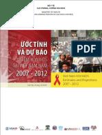 Uoc Tinh Du Bao HIV 2007 2012