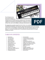 Mirage DSK-1 Musicians Manual