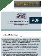 Panduan Bintek Un Smp Solo 2010