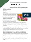 Requisitos de Deducción de Comprobantes Del Extranjero