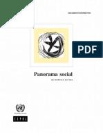 CEPAL - Sintesis Panorámica Social de América Latina 2005