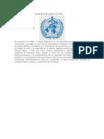 Definición de Salud Ocupacional Según La OMS