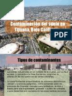Contaminación del suelo en Tijuana