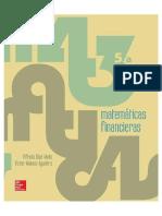 Matemáticas Financieras Alfredo Díaz Mata