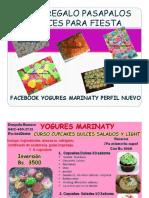 Guia Pasapalos Dulces Regalo Yogures Marinaty 10 Julio..