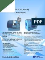 Spesifikasi Mesin CNC Lathe