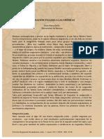 Grillo, Rosa Maria. Emigracion Italiana a Las Americas