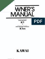 K1 Owners Manual