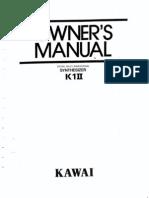 K1-II Owners Manual