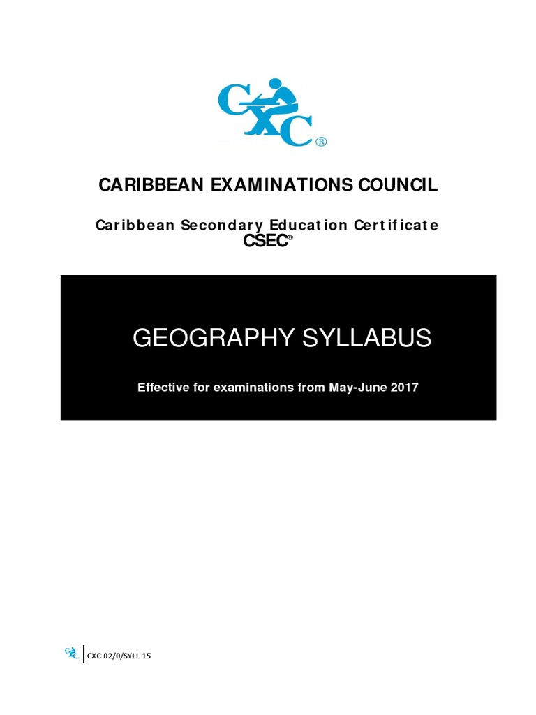 Csec Geography Syllabus Climate Climate Change