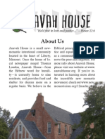 Anavah House Booklet