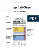 Infoquest Food and Nutrition