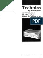 Hfe Technics Sa-700 En