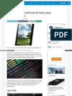 10 Mejores Editores de Texto para Linux