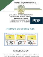 Metodo ABC de Costeo 2016
