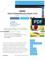 Unity 5 0 Disponible Para Ubuntu 12 04