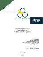 Relatório_Exp4_Leis de Kirchhoff_Fenômenos Eletromagnéticos_Trim2.1