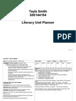 persuasive text unit planner