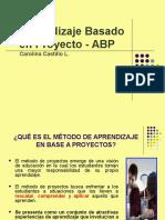 Aprendizaje en Base a Proyectos