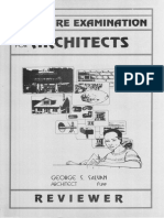 Salvan, George - Licensure Examination for Architects Reviewer