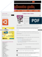 Configurar Unity en Ubuntu HTML