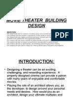 Movie Theater Building Design