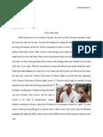 GRE 113B Essay Global Crisis