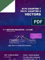 P3 Chapter 7  Vectors