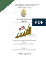 Pib Vab Sectores Economicos