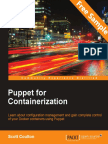 Puppet for Containerization - Sample Chapter