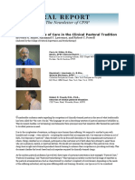 MillerLawrencePowell-July 9, 2005 Discrete Varieties of Care in the Clinical Pastoral Tradition