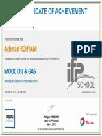 IPF MOOC Certificate
