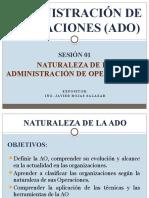 Administración de Operaciones-sesión 01 Naturaleza de La Ado
