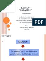 PPT Mata Kalazion
