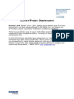 Net Safety Uni Tran Replacement Board Notice of Product Obsolescence 11-19-2014